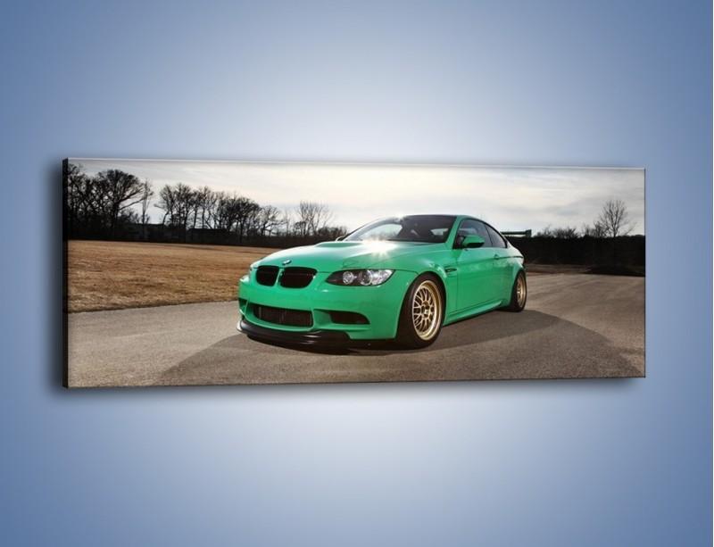 Obraz na płótnie – BMW E92 M3 Tuning – jednoczęściowy panoramiczny TM108