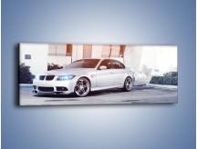Obraz na płótnie – BMW 3 E90 – jednoczęściowy panoramiczny TM112