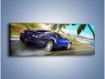 Obraz na płótnie – Bugatti Veyron – jednoczęściowy panoramiczny TM123