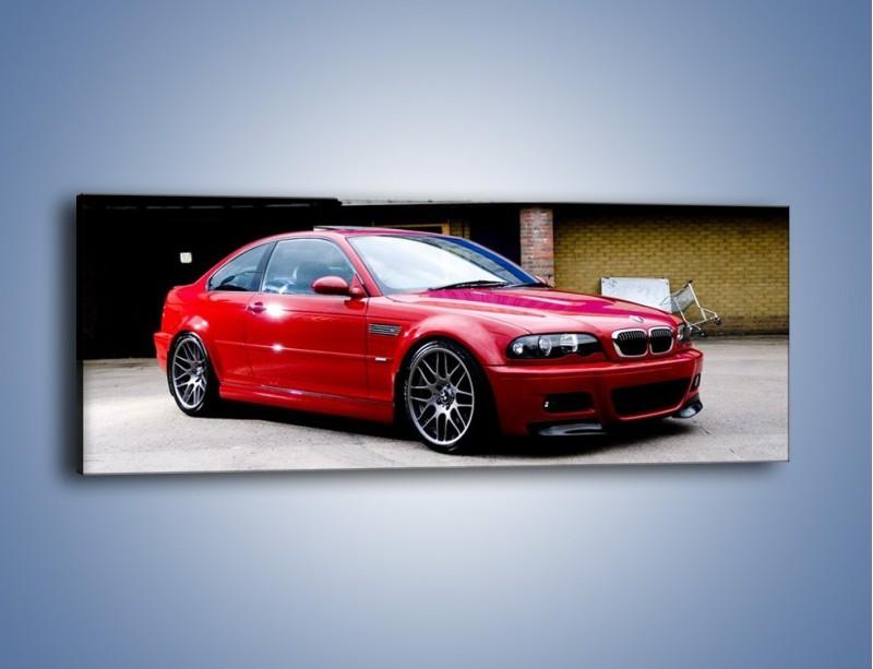 Obraz na płótnie – BMW M3 E46 Coupe – jednoczęściowy panoramiczny TM125