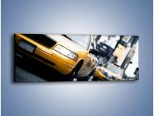 Obraz na płótnie – Taksówki w Nowym Jorku – jednoczęściowy panoramiczny TM151