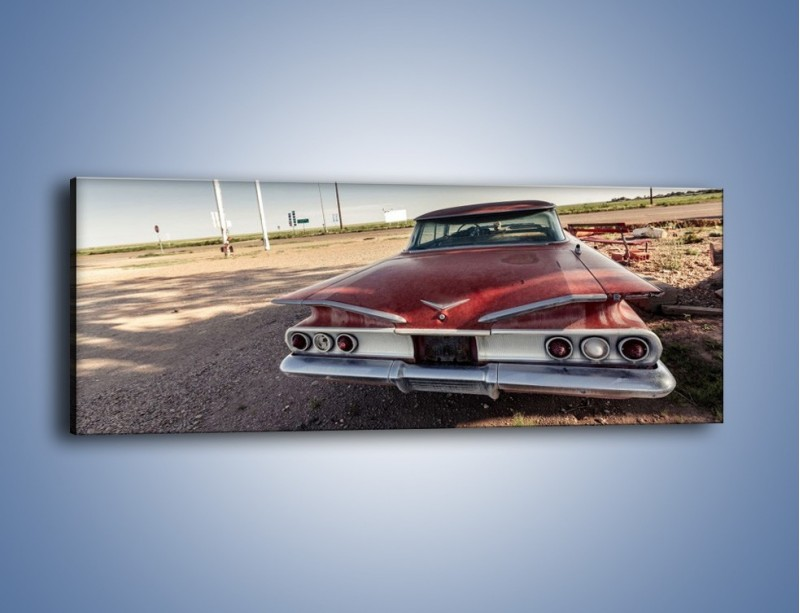 Obraz na płótnie – Amerykański samochód z połowy XX wieku – jednoczęściowy panoramiczny TM158