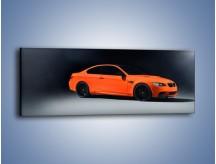Obraz na płótnie – BMW M3 E92 Coupe Orange – jednoczęściowy panoramiczny TM168