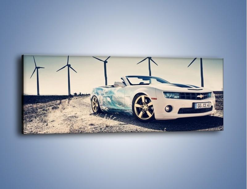 Obraz na płótnie – Chevrolet Camaro Cabrio – jednoczęściowy panoramiczny TM173