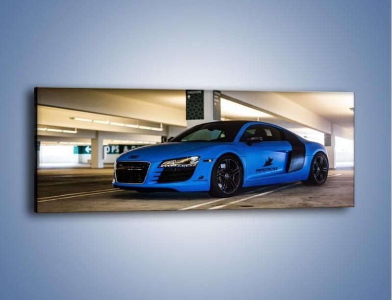 Obraz na płótnie – Audi R8 – jednoczęściowy panoramiczny TM180