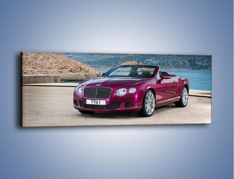 Obraz na płótnie – Bentley Continental Speed GT – jednoczęściowy panoramiczny TM187