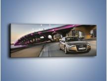 Obraz na płótnie – Audi A8 – jednoczęściowy panoramiczny TM188