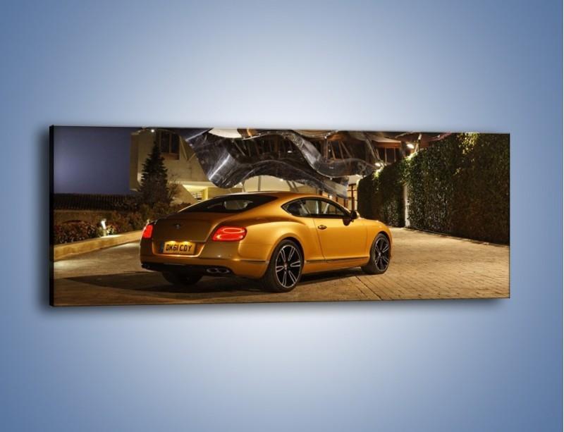 Obraz na płótnie – Bentley Continental GT V8 – jednoczęściowy panoramiczny TM190