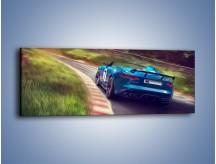Obraz na płótnie – Jaguar F-Type Project 8 – jednoczęściowy panoramiczny TM202