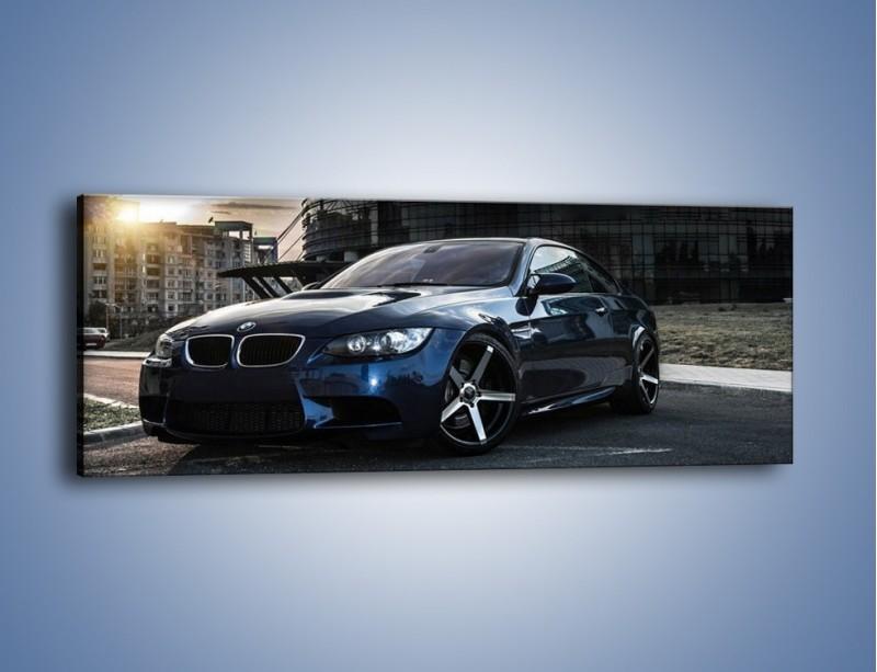 Obraz na płótnie – BMW E92 M3 – jednoczęściowy panoramiczny TM213