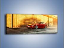 Obraz na płótnie – BMW 3 F30 – jednoczęściowy panoramiczny TM235