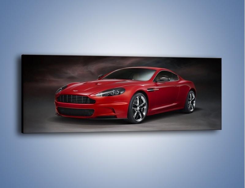 Obraz na płótnie – Aston Martin DBS Carbon Edition – jednoczęściowy panoramiczny TM242
