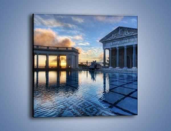 Obraz na płótnie – Neptune pool w Kalifornii – jednoczęściowy kwadratowy AM320