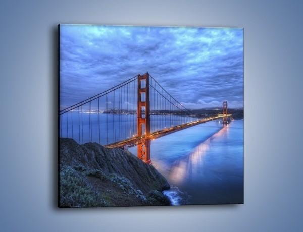Obraz na płótnie – Most Golden Gate – jednoczęściowy kwadratowy AM328