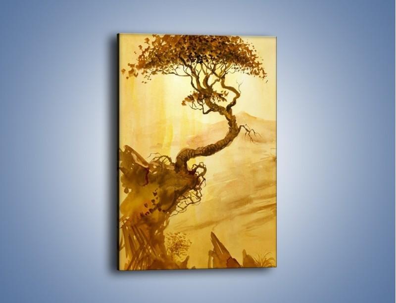 Obraz na płótnie – Drzewo nieźle zakręcone – jednoczęściowy prostokątny pionowy GR060