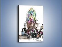 Obraz na płótnie – Koncert podczas mszy – jednoczęściowy prostokątny pionowy GR067