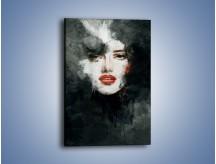 Obraz na płótnie – Czarna dama – jednoczęściowy prostokątny pionowy GR329