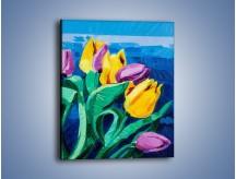 Obraz na płótnie – Kto nie lubi tulipanów – jednoczęściowy prostokątny pionowy GR344