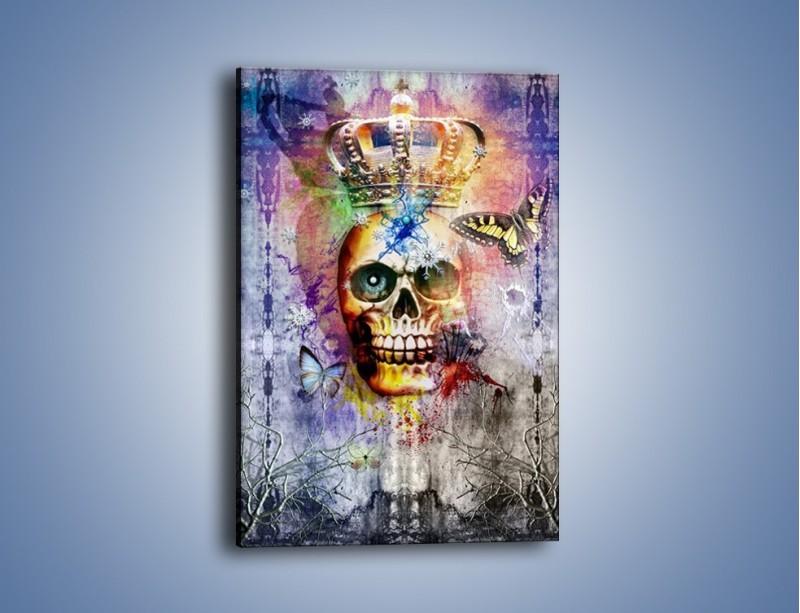 Obraz na płótnie – Władza śmierć i nieznane – jednoczęściowy prostokątny pionowy GR455