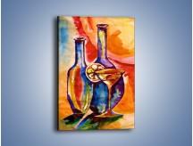 Obraz na płótnie – Do posiłku kieliszek wina – jednoczęściowy prostokątny pionowy GR536
