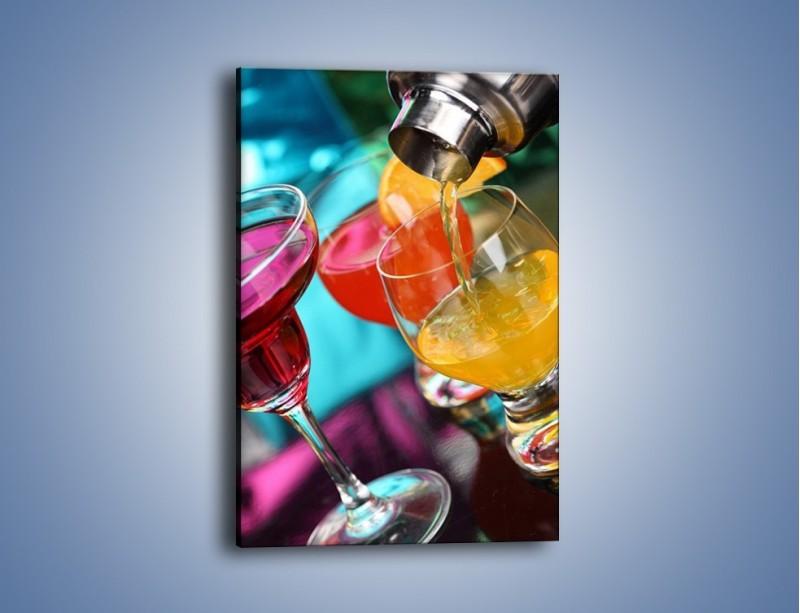 Obraz na płótnie – Świeże drinki – jednoczęściowy prostokątny pionowy JN043