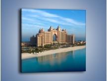 Obraz na płótnie – Atlantis Hotel w Dubaju – jednoczęściowy kwadratowy AM341