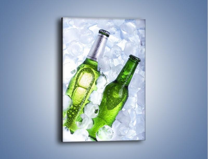 Obraz na płótnie – Podwójne piwo – jednoczęściowy prostokątny pionowy JN145