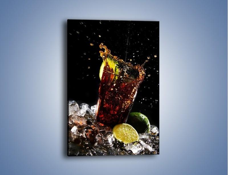 Obraz na płótnie – Dobry męski drink – jednoczęściowy prostokątny pionowy JN174