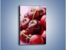 Obraz na płótnie – Czereśniowa rozkosz – jednoczęściowy prostokątny pionowy JN224