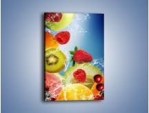 Obraz na płótnie – Owoce o poranku – jednoczęściowy prostokątny pionowy JN331