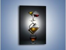Obraz na płótnie – Alkoholowy misz-masz – jednoczęściowy prostokątny pionowy JN336
