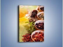 Obraz na płótnie – Aromatyczne przyprawy do herbaty – jednoczęściowy prostokątny pionowy JN492