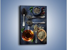 Obraz na płótnie – Herbata i smaki świata – jednoczęściowy prostokątny pionowy JN686