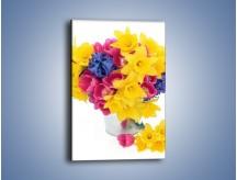 Obraz na płótnie – Kolorowy wazon – jednoczęściowy prostokątny pionowy K277