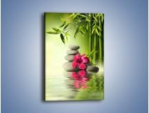 Obraz na płótnie – Czerwony sen o kwiatach – jednoczęściowy prostokątny pionowy K654
