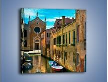 Obraz na płótnie – Cały urok Wenecji w jednym kadrze – jednoczęściowy kwadratowy AM371