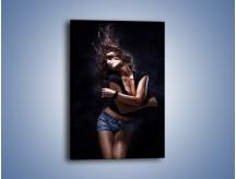 Obraz na płótnie – Kobieca delikatność w tańcu – jednoczęściowy prostokątny pionowy L028