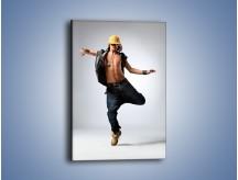 Obraz na płótnie – Lekkość w męskim tańcu – jednoczęściowy prostokątny pionowy L179