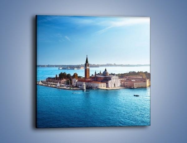 Obraz na płótnie – Wyspa San Giorgio Maggiore – jednoczęściowy kwadratowy AM380