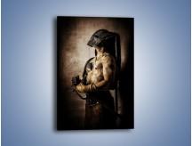 Obraz na płótnie – Męskość w silnym ciele – jednoczęściowy prostokątny pionowy L348