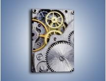 Obraz na płótnie – Skomplikowane mechanizmy – jednoczęściowy prostokątny pionowy O007