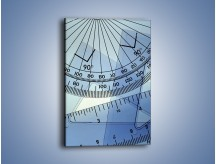 Obraz na płótnie – Linijki w różnych kształtach – jednoczęściowy prostokątny pionowy O049