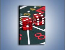 Obraz na płótnie – Kostki do gry dla dorosłych – jednoczęściowy prostokątny pionowy O059
