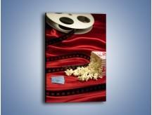 Obraz na płótnie – Nie ma kina bez popcornu – jednoczęściowy prostokątny pionowy O063