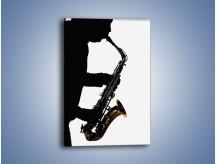 Obraz na płótnie – Idealne solo na saksofonie – jednoczęściowy prostokątny pionowy O084