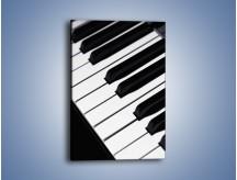 Obraz na płótnie – Nauka gry na pianinie – jednoczęściowy prostokątny pionowy O085