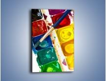 Obraz na płótnie – Kolorowy świat malowany farbami – jednoczęściowy prostokątny pionowy O116