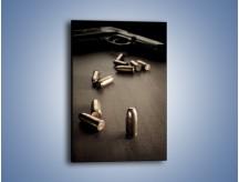 Obraz na płótnie – Śmierć z użyciem broni – jednoczęściowy prostokątny pionowy O119