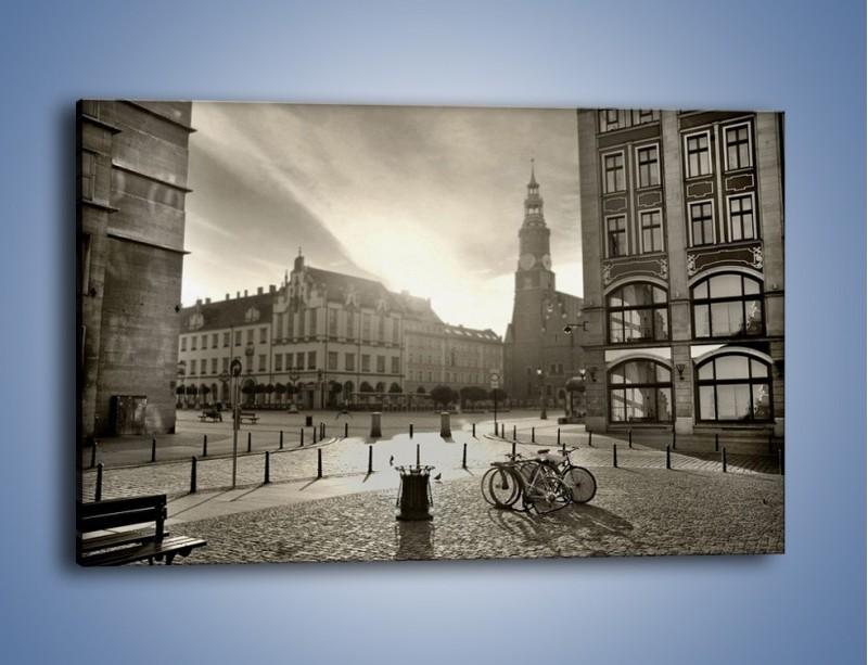 Obraz na płótnie – Rynek Starego Miasta – jednoczęściowy prostokątny poziomy AM136