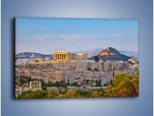 Obraz na płótnie – Ateńskie ruiny – jednoczęściowy prostokątny poziomy AM162